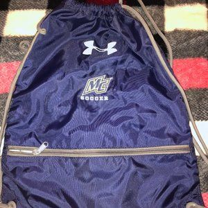 Merrimack College Drawstring Bag